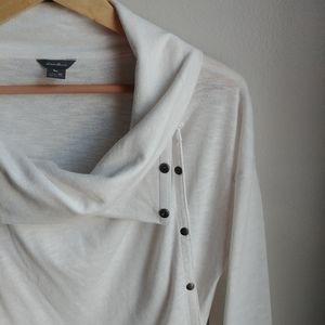 EDDIE BAUER // Convertible Wrap Sweater
